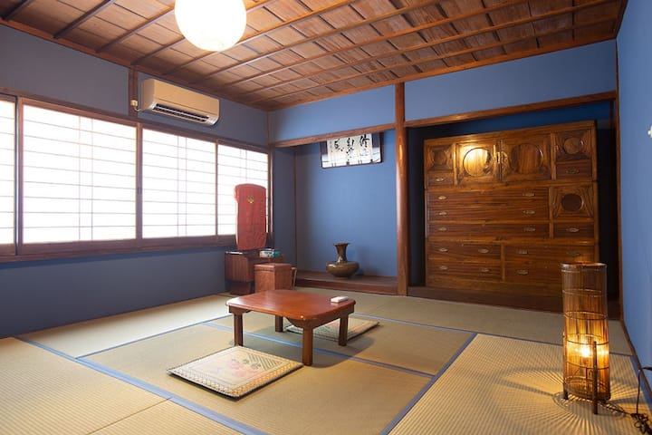 Traditional House 1-4people(20㎡)Tokonoma/Sta 7 min