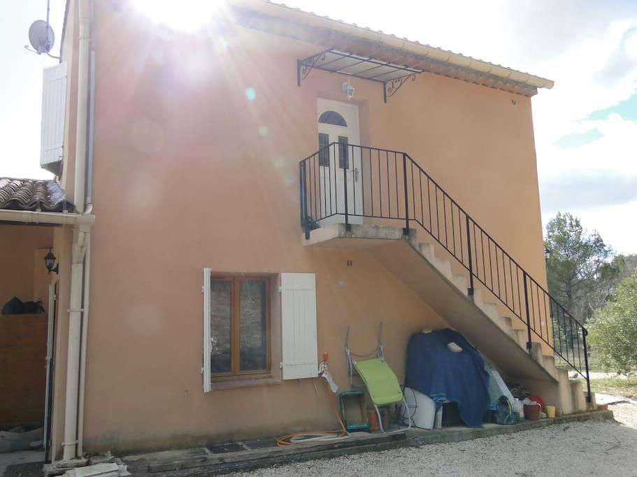 L'entrée de l'appartement