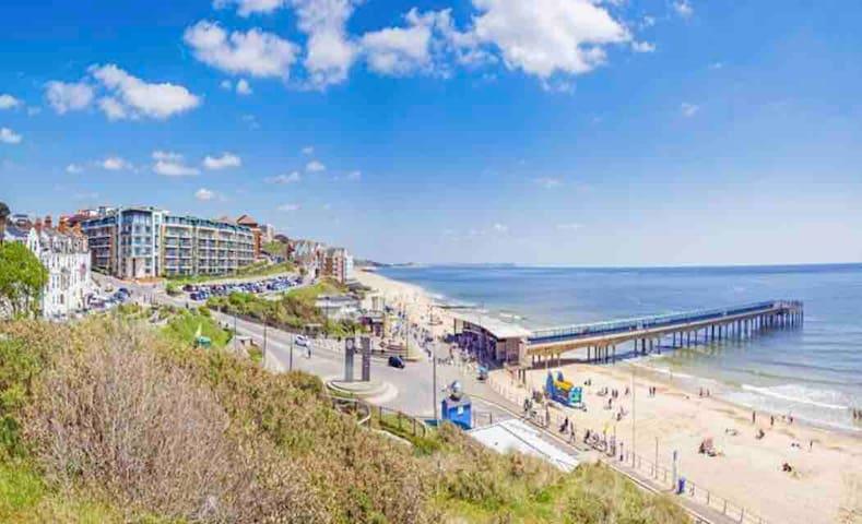 Beach penthouse