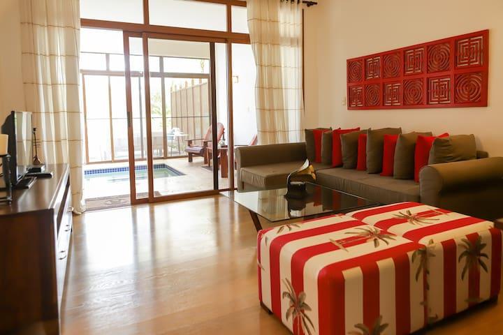 9. Apartamento de 1 habitacion jacuzzi y terraza