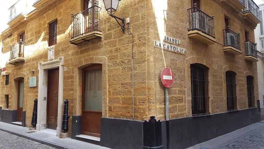 11. Palacio S.  XVIII  individual WIFI - Cádiz - Rumah