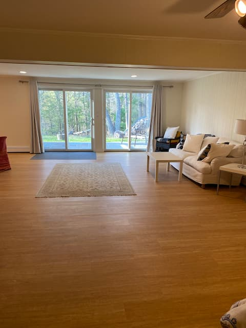 West Hurley guest suite studio lower level