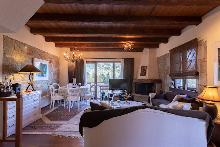 Agoriani Riverside Chalet With Panoramic View