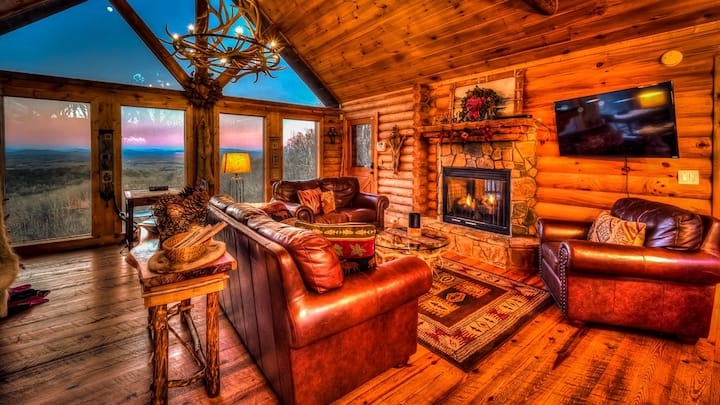 Indian Mountain Lodge- Pet Friendly | Spa Room | Outdoor Fire Pit