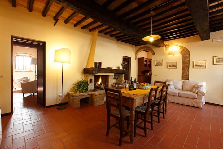 6/8 pers,Wi-Fi,SwPool,Catering - Montespertoli - Lejlighed