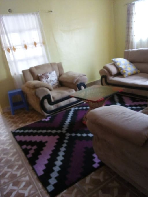 The shared living room.