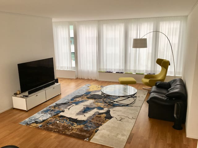 Brand new, bright and spacious city-apartment