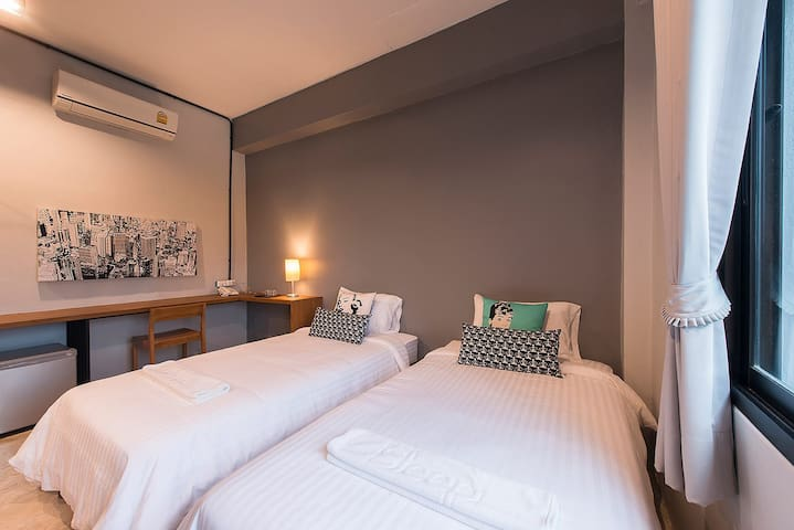 Studio Twin Room Sleep Station - Room Only