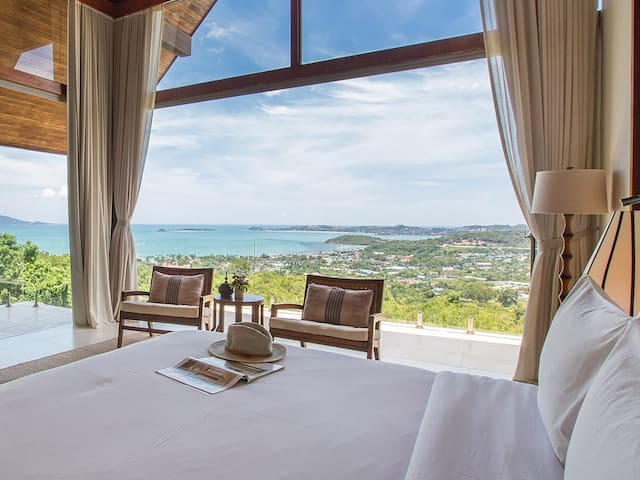 Avasara Residence at Panacea Retreat - Stunning view from bedroom one