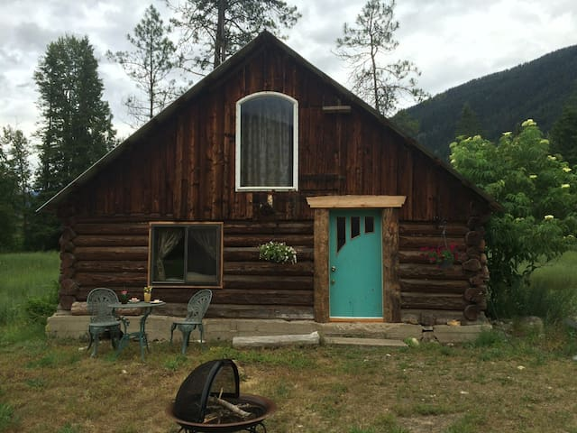 Little House in the Valley Rustic Cabin
