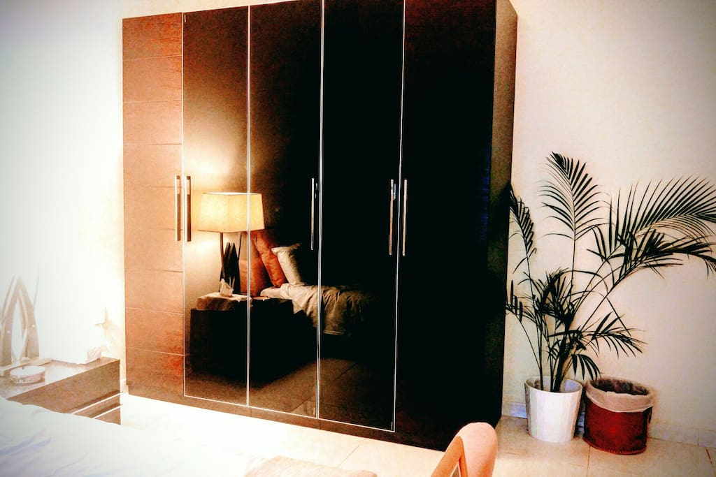 Large wardrobe to hang or fold clothes