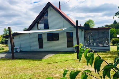 Comfortable chalet near Tongariro National Park