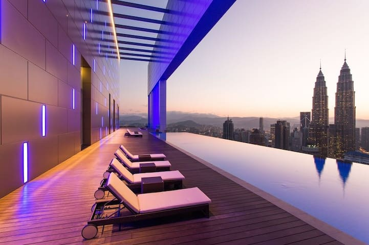 The Face Suites- The best Swimming pool in KL - Kuala Lumpur - Apartment