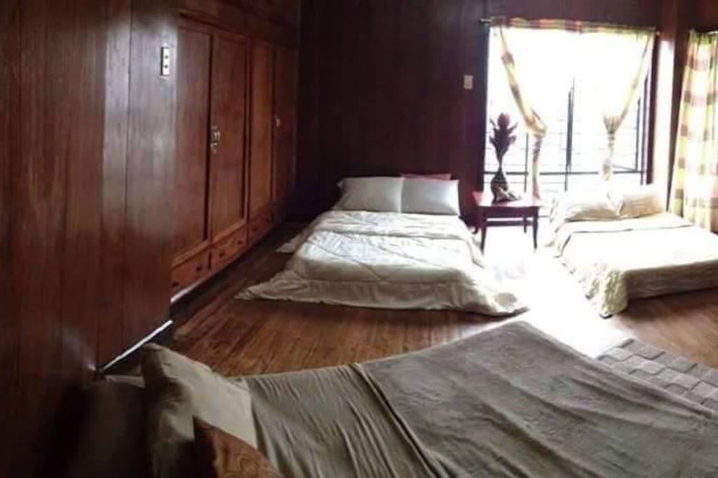 Barkada Room. Accommodates up to 12 pax.