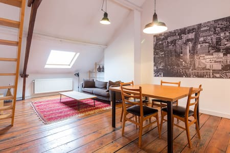 Furnished loft in Brussels City - Saint-Josse-ten-Noode