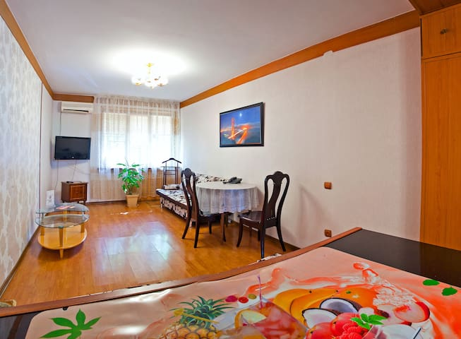 The best Bachelor in the Down Town - Almaty - Apartment