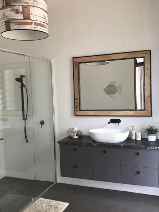 Private En-suite with green outlook