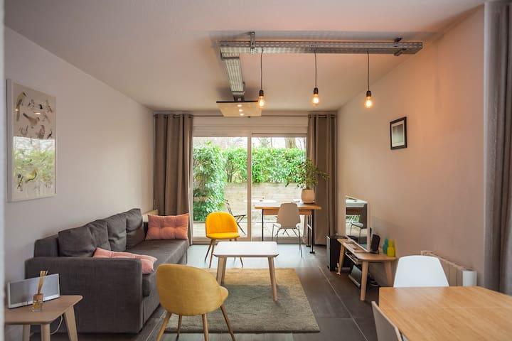 Très agréable T2 de 50 m2 avec terrasse