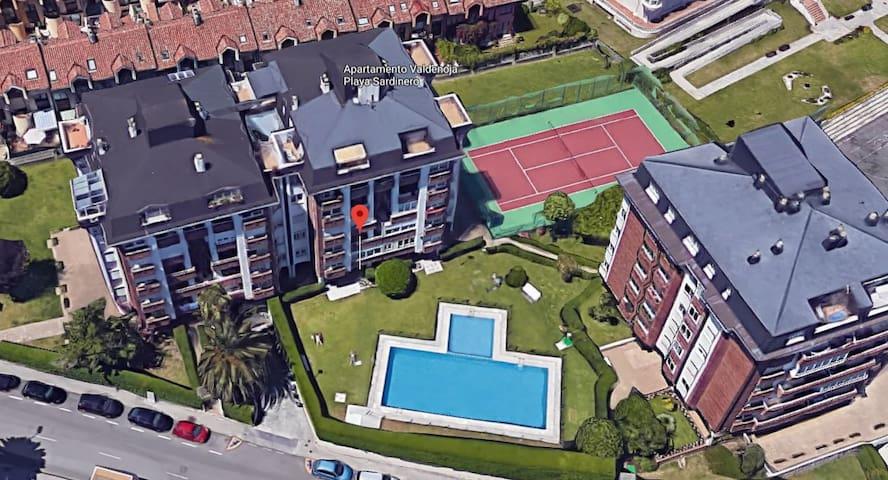 Apartamento hasta 6 personas en zona Sardinero 2