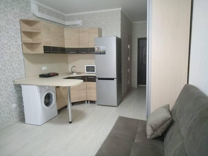 Уютная квартира-студия рядом с Мега-Адыгея