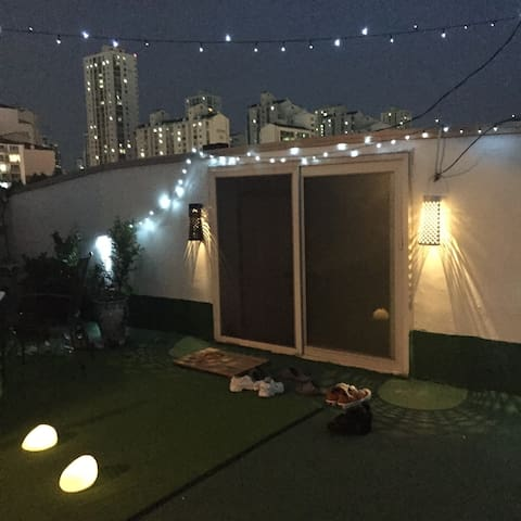 Party on the Roof-Top (Enjoy BBQ in the City)