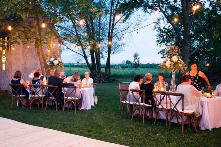 Wedding Venue and Stay in Wine Country