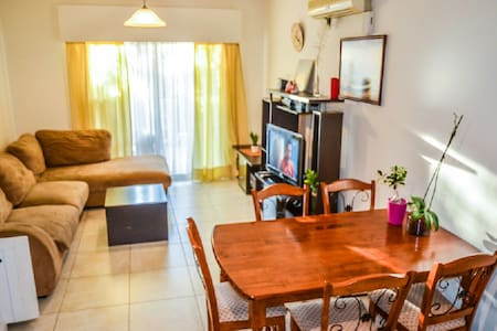 2BR apartment in tourist area by the sea Messogios - Germasogeia