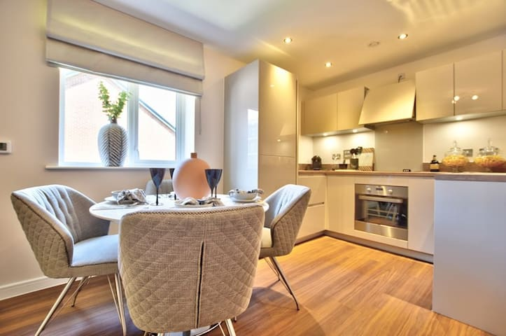 Stylish & Cosy 1 Bed Private Apartment