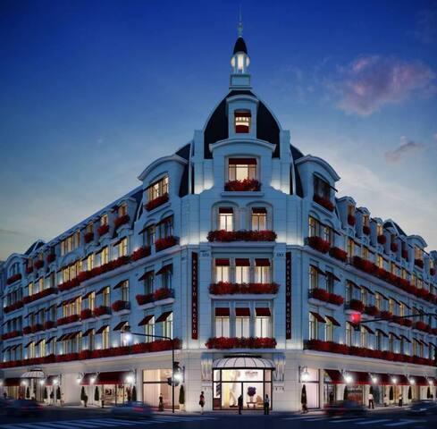 Fancy Loft 70 mts2 y amenities Palacio Raggio BsAs