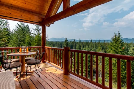 Panoramic Tree Top View Log Cabin - 克利埃勒姆(Cle Elum) - 小木屋