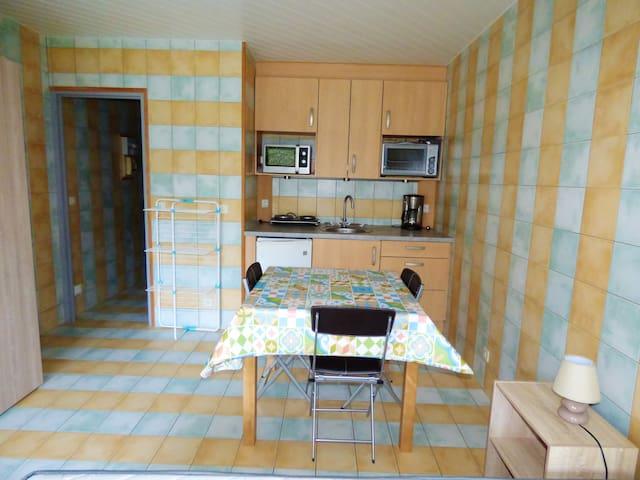 Exceptionnel studio avec terrasse