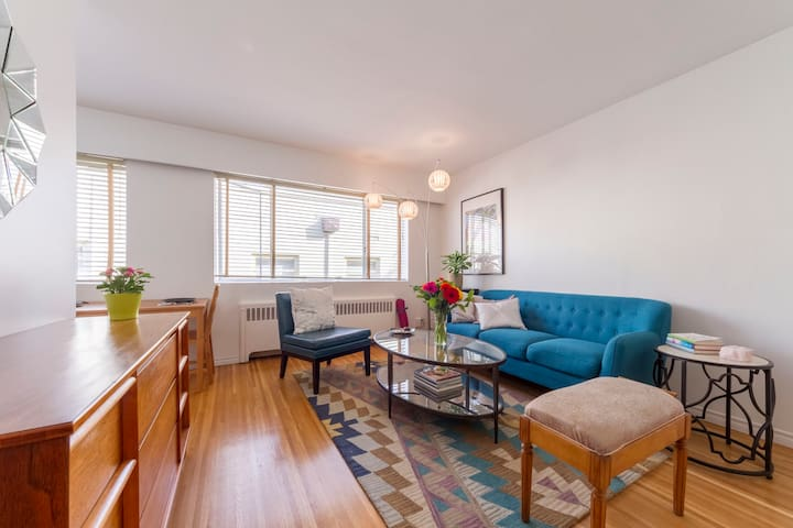Walk to Stanley Park & English Bay - Downtown - Vancouver - Appartement