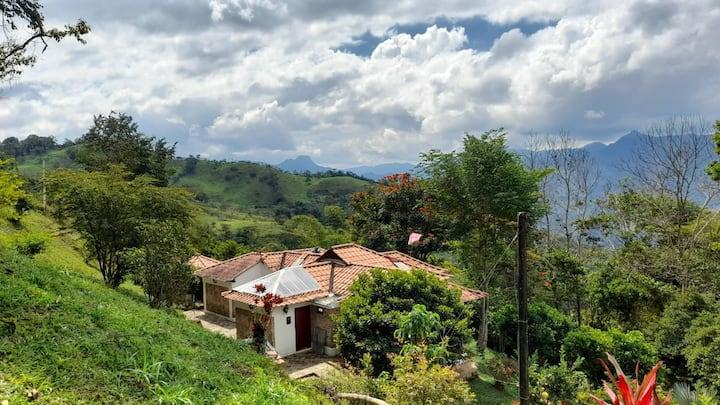Finca el Fical entre Maripi y Muzo Boyacá Colombia