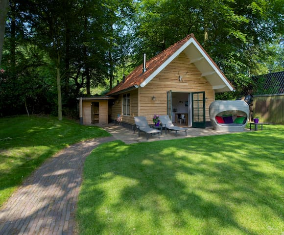 Sparrennest, boshuis (forest cottage) in Hilversum - Hilversum - Cabin