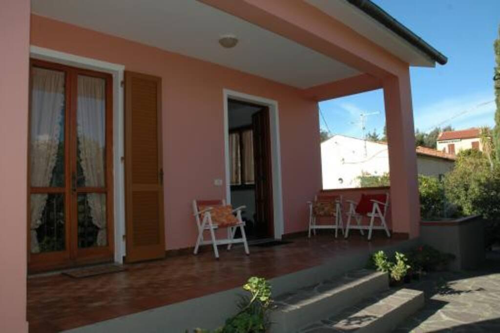 veranda di ingresso