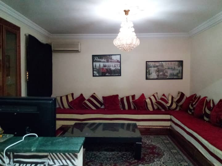 Moderne appartment low price ; 2 min to souk Elhed
