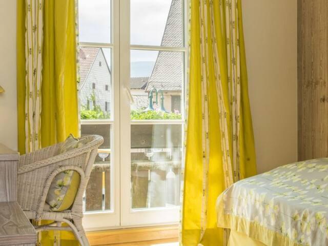 """Hotel Sonne, (Kirchzarten), Einzelzimmer """"Landhaus"""" mit Dusche und WC"""