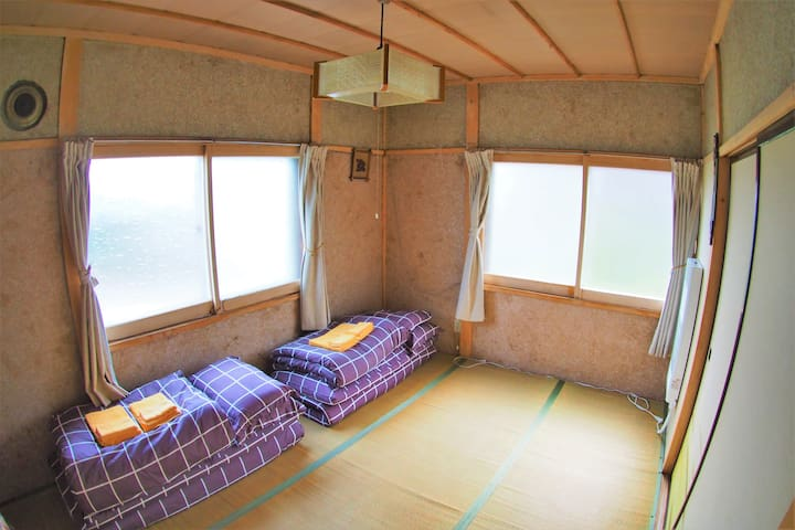 3st Bed room 2 double futon(2F)