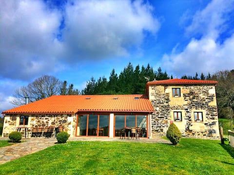 Porto de Bois. Paz en el corazón de Galicia