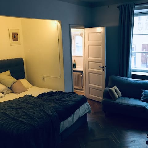 Cosy flat in the city center of Stockholm!
