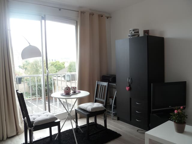 Lovely, quiet flat near the Palace & train station