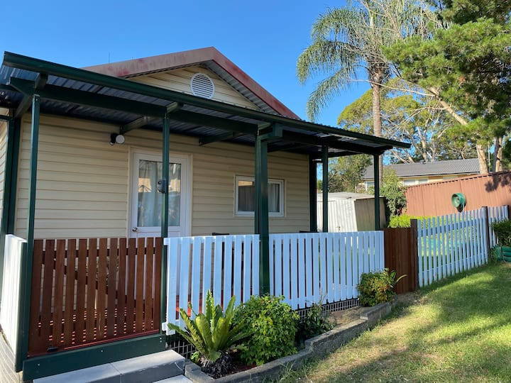 A homely granny flat contains everything you need