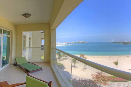 Shoreline 1BR with great Sea view - Dubai - Huoneisto