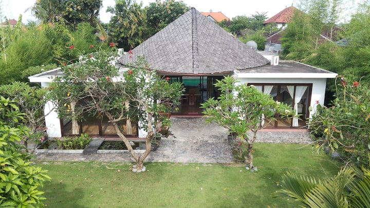 Two bedroom villa with private pool and garden