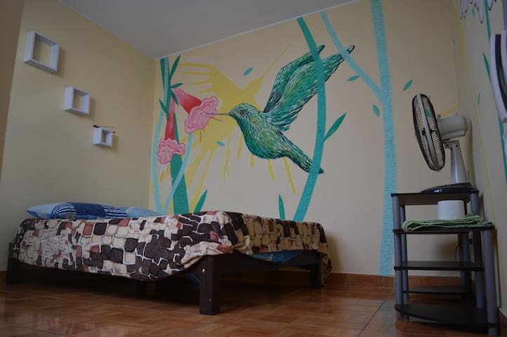 Double Private Room Barranco with Private Bathroom - Distrito de Barranco - House