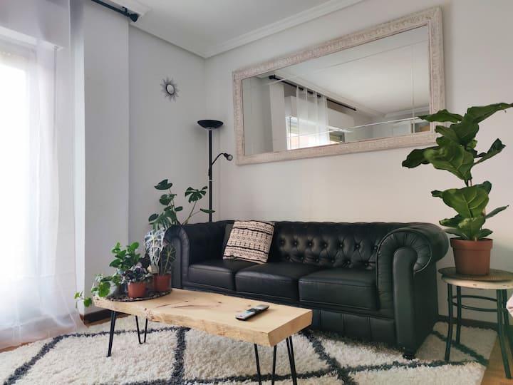 Habitación doble con aseo privado en Ávila