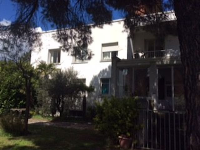 Toulouse:maison entourée de verdure