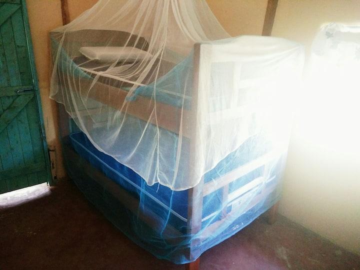 Bunk bed in Rusinga Island