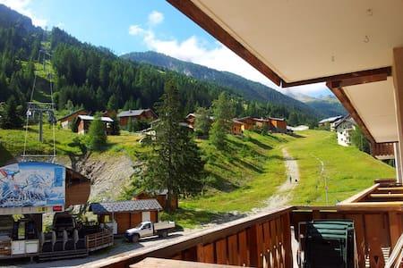 Ski apartment directly opposite the main lift! - Modane - Pis