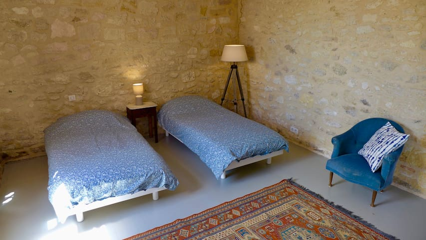 Bedroom four is a beautiful twin room, which can also be made into a superking-size bed